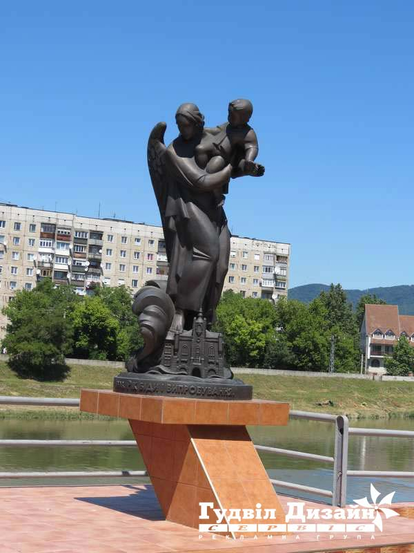 19.80 Скульптура з бронзи - пам'ятний знак