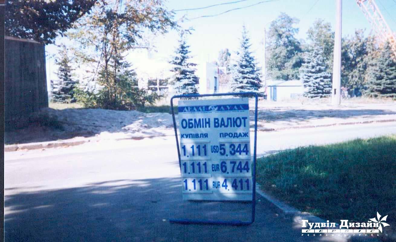 8.15 Виносне табло обміну валют + каса цифр