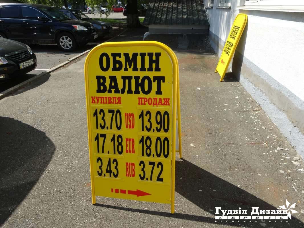 8.17 Виносне табло курсу обміну валют