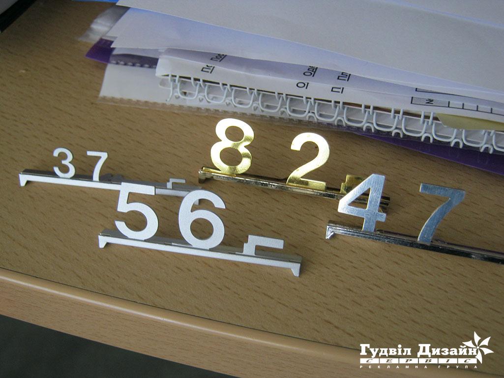 14.72 Ценники наборные металлические