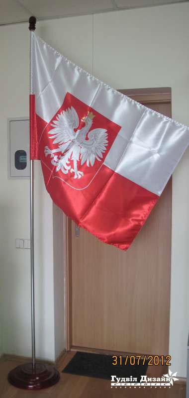 21.9 Флаг на напольной подставке