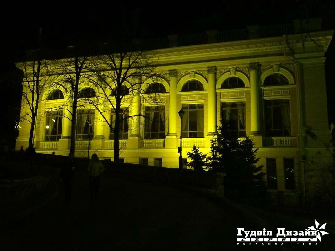 22.13 Подсветка фасада здания