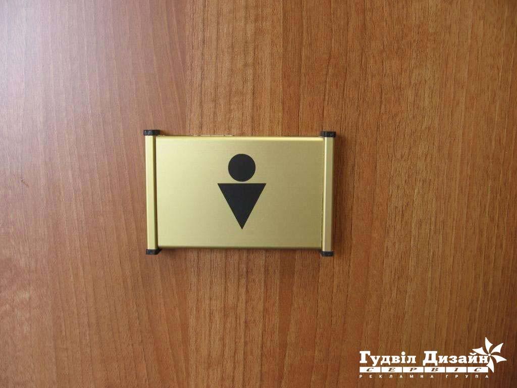 28.7 Обозначение туалета