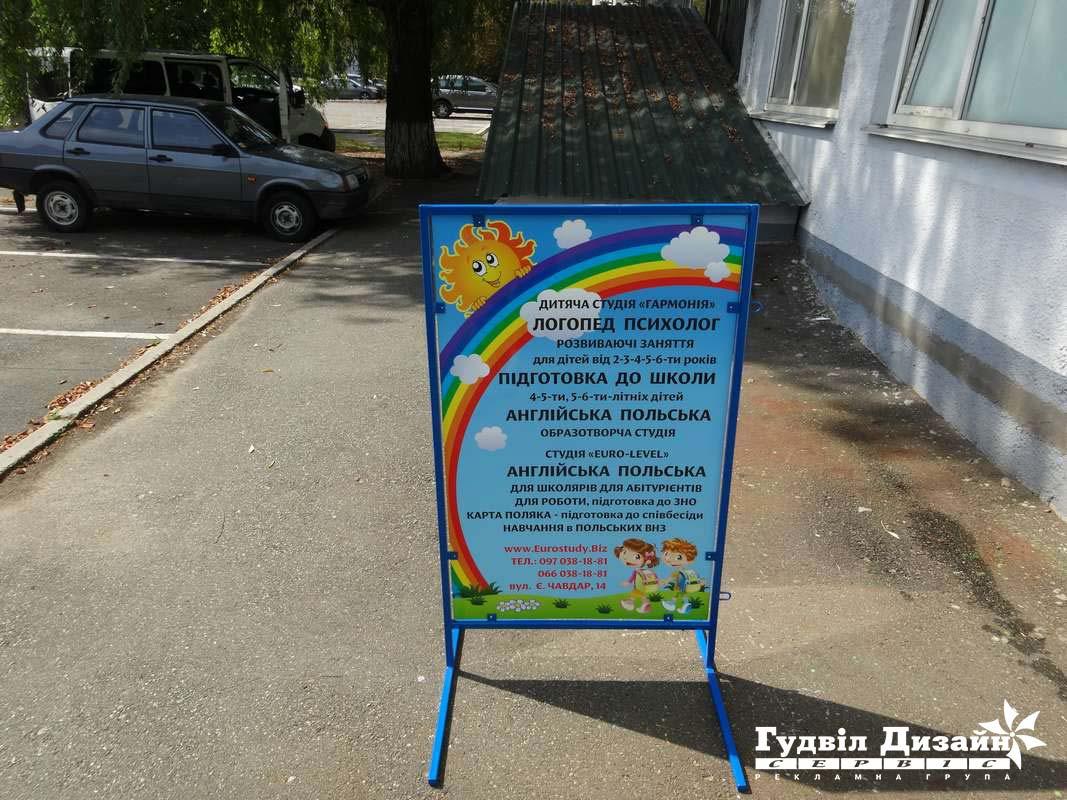 7.29 Выносной информационный щит