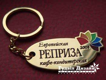 20.115 Латунний брелок для ключів