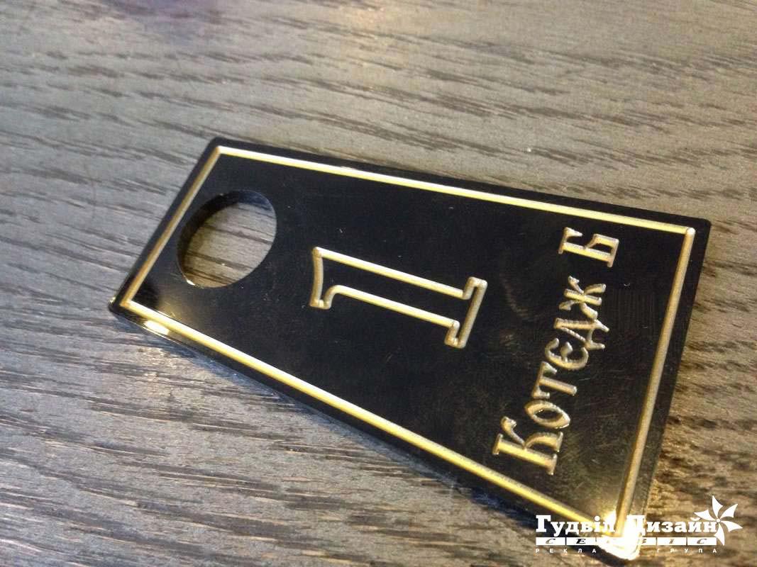 23.35 Брелок - номерок для готелю