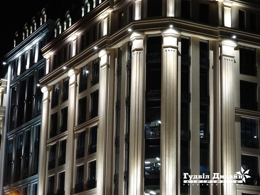 22.23 Подсветка фасада здания